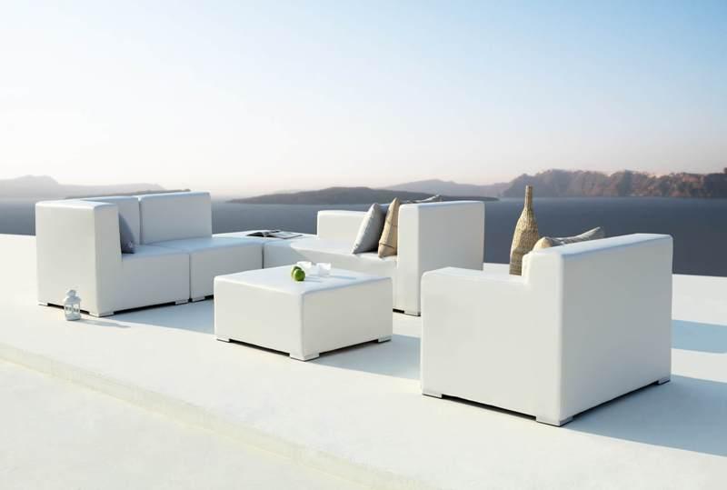 Loungeset capri outdoorinstyle - Moderne hoek lounge ...