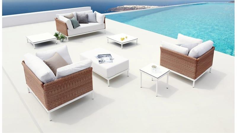 Fauteuil lounge set grimaud - Eigentijdse design lounge ...