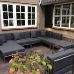Loungeset Valbonne stainless steel