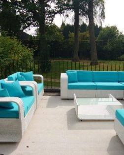 Loungeset Hyeres bezorgd in Brussel