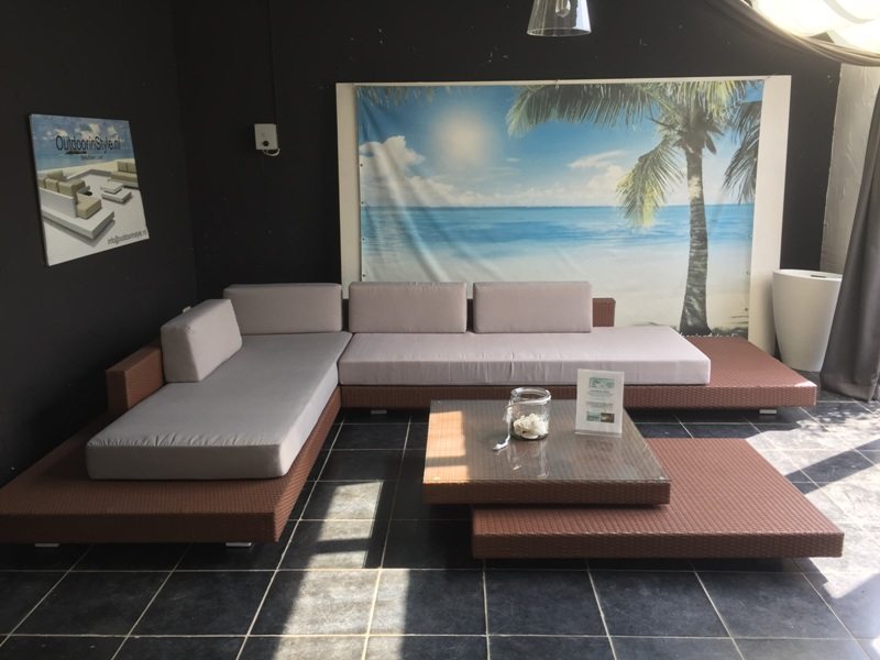 Luxe Loungeset Zwart.Loungeset Ibiza