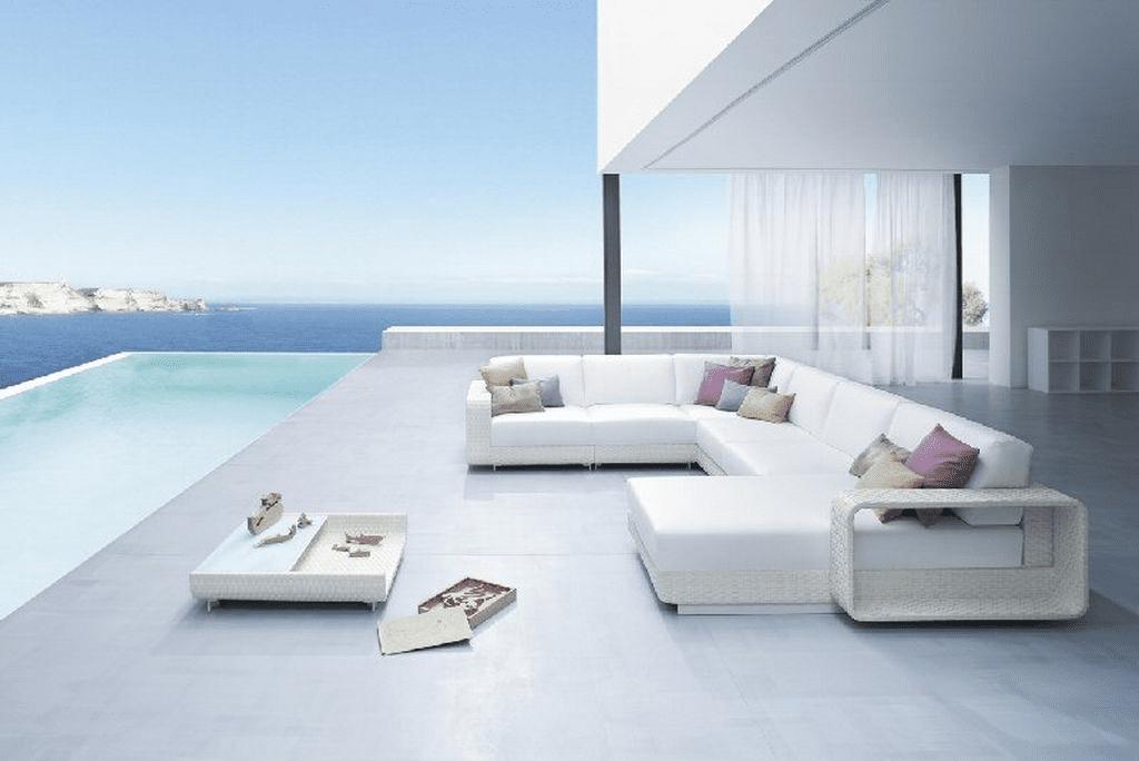 Witte loungeset archieven pagina 6 van 8 outdoorinstyle - Witte design lounge ...
