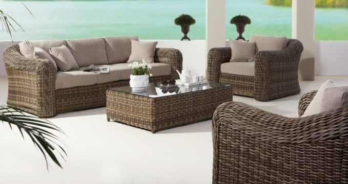 Loungeset montpellier outdoorinstyle