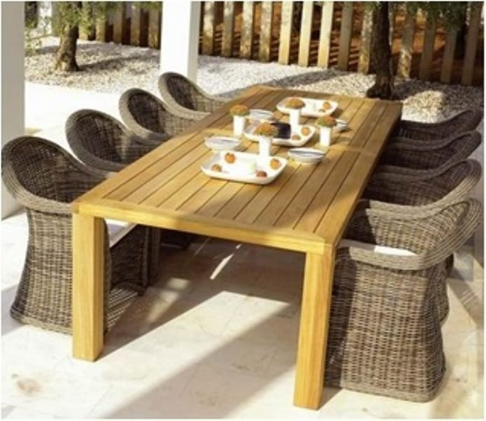 Eettafel Set Kopen.Tuinset 3 Serie St Tropez 8 Fauteuils Tafel Outdoorinstyle