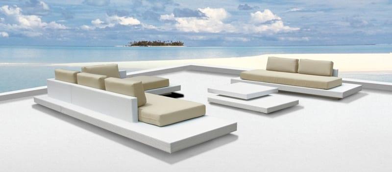 Witte loungeset archieven outdoorinstyle - Moderne zwart witte lounge ...