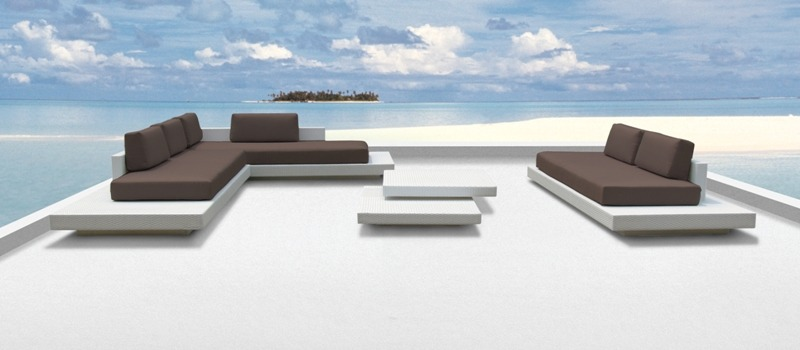 Design loungeset archieven outdoorinstyle for Moderne loungebank tuin