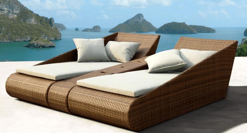 Aanbieding Loungebank Tuin : Luxe loungeset buiten