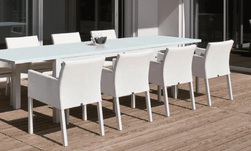 Witte tuinmeubelen archieven outdoorinstyle - Moderne zwart witte lounge ...