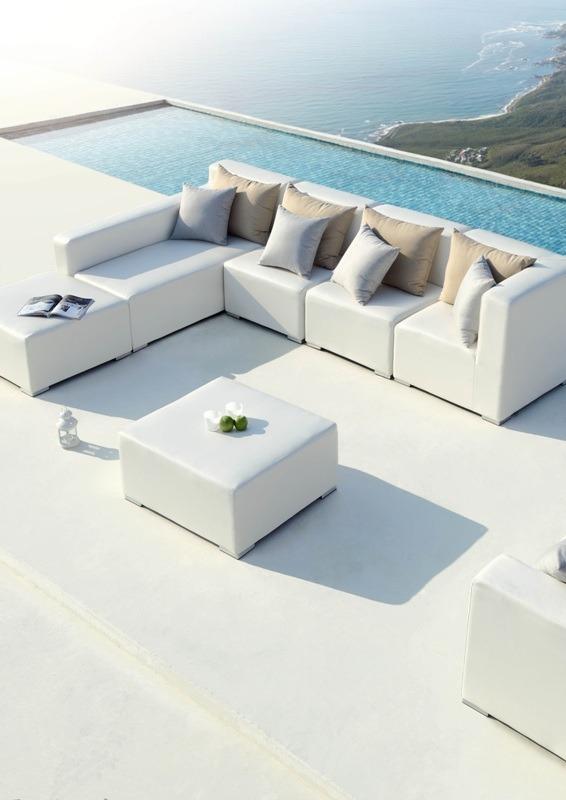 Tuinset wit archieven outdoorinstyle - Moderne zwart witte lounge ...