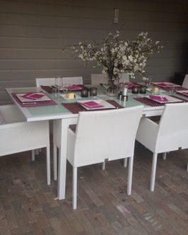 Tuinset Beaulieu bezorgd in Udenhout