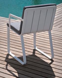 Losse fauteuil en tafel Tuinset Cannes