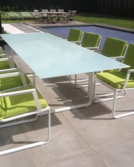 Tuinset Cannes 6-persoons peridot kussens Outdoorinstyle