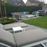 Loungeset Cannes bezorgd in Gent