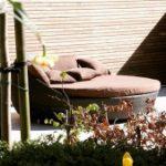 Ligbed Antibes geleverd bij Sauna en wellness Oudenaarde