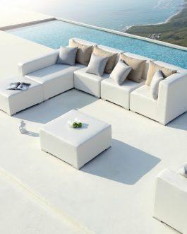 Loungeset Capri Spruncrylic grijs