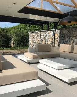 Loungeset Ibiza aluminium versie