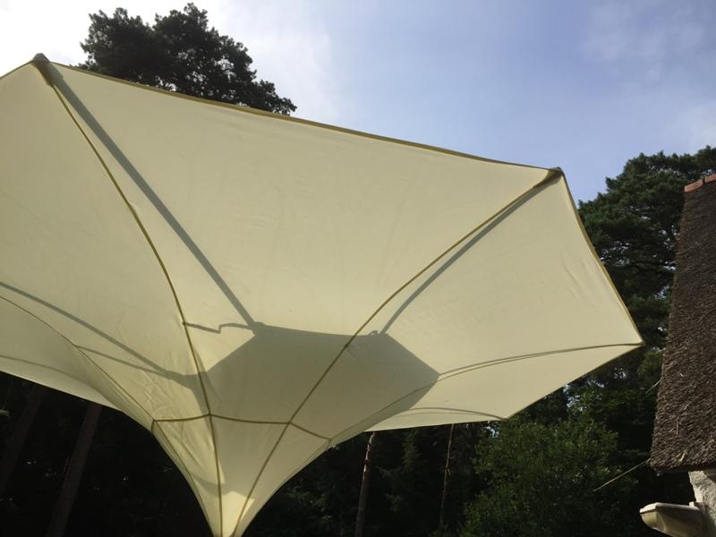 Parasol Miami bezorgd in Blaricum