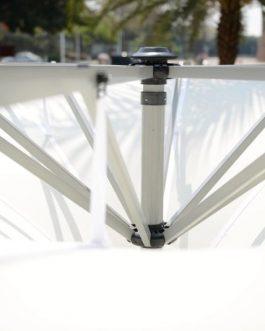 Parasol Miami 350×350 cm. 50% introductiekorting!!
