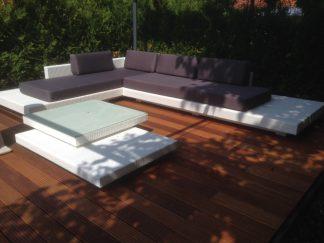 Lounge set opposite corner- L-shape