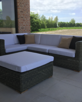 Loungeset Theoules bezorgd in Middelburg