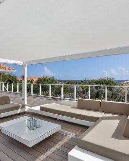 Loungeset Ibiza met taupe kussens Outdoorinstyle