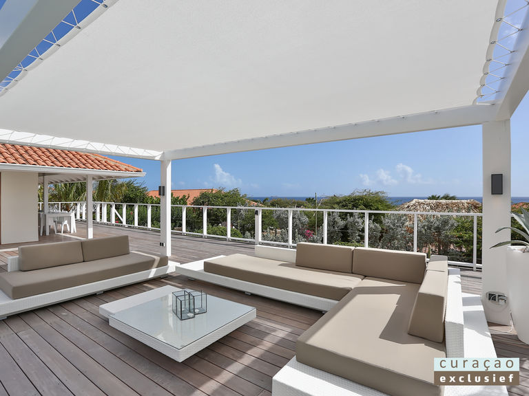 Loungeset Ibiza set compleet taupe kussens Outdoorinstyle