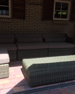 Loungeset St. Tropez bezorgd in Purmerend