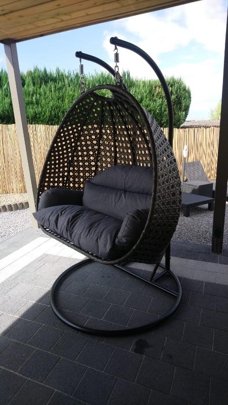 Hangstoel Rio Duo grijze versie