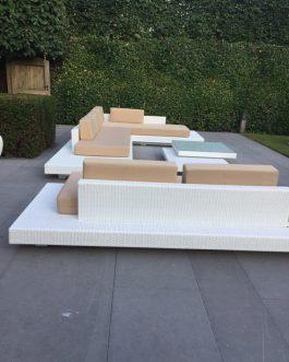 Loungeset Ibiza bezorgd in Brasschaat