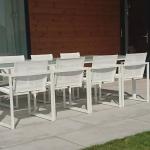 Tuinset San Remo bezorgd in Barneveld met 8 stoelen