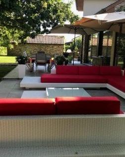 Loungeset Ibiza bezorgd in Rillaar België