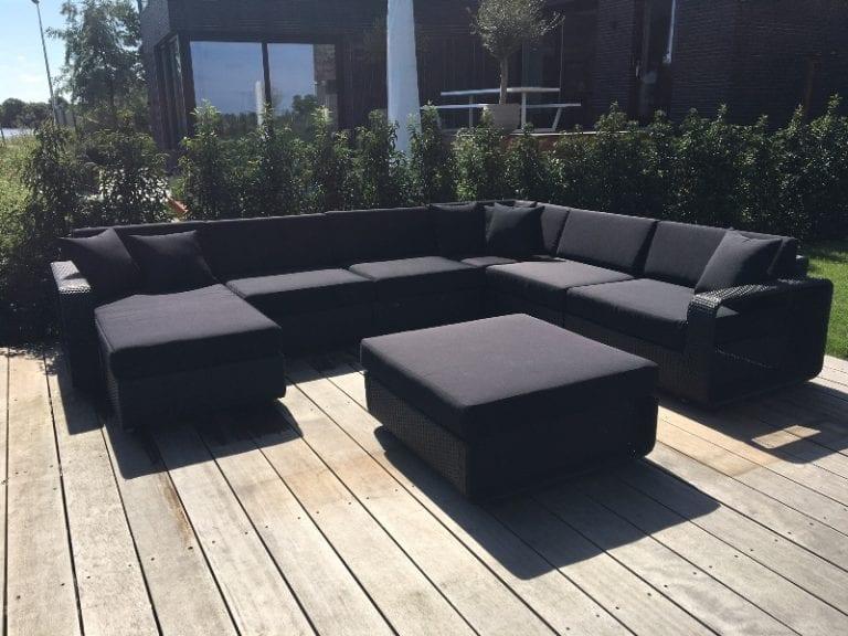 loungeset zwart