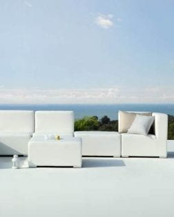 Loungeset Capri witte set Outdoorinstyle
