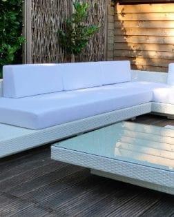 Loungeset Ibiza bezorgd in Blaricum