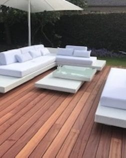 Loungeset Ibiza bezorgd in Dendermonde België