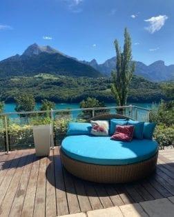 Ligbedden Antibes bezorgd in de Franse Alpen