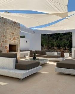 Loungeset Ibiza bezorgd op Zakynthos Griekenland