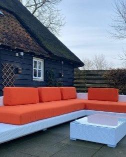 Loungeset Ibiza bezorgd in Hilvarenbeek