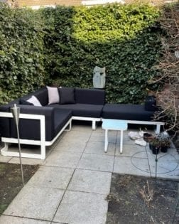 Loungeset + ligbed Cannes bezorgd in Gilze