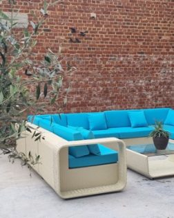 Loungeset Hyeres bezorgd in Ronse